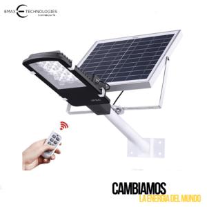 Lámpara Led Solar de Calle Para Alumbrado Público de 120 Watts NWN-SCORP-120W