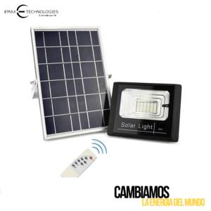 Reflector Led Solar de Calle Para Alumbrado Público de 40 Watts NWN-SRX-40W